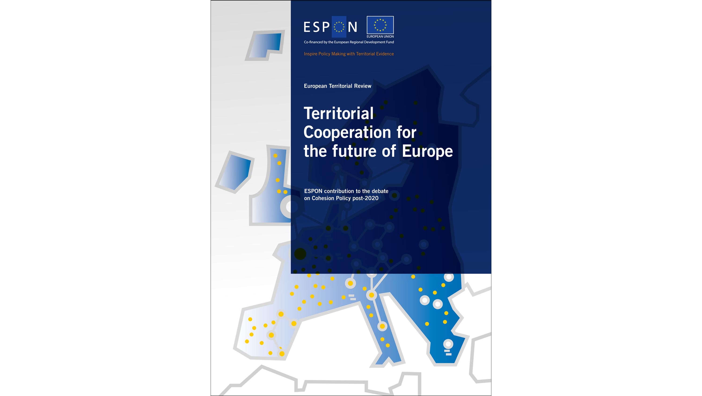 Capa da publicação ESPON Territorial Cooperation for the future of the Europe