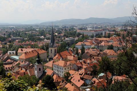 Ljubljana. Crédito: Lorenzo Magnis. Licença CC 2.0