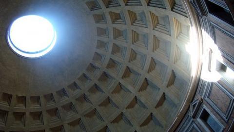 Panteão de Roma. Crédito: Elisa Vilares. Licença CC 2.0